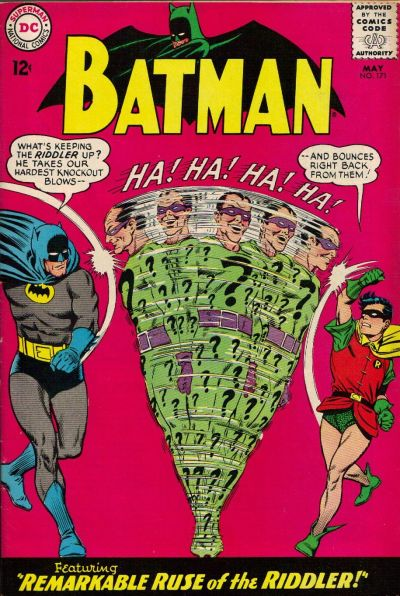 Cover for Batman (DC, 1940 series) #171