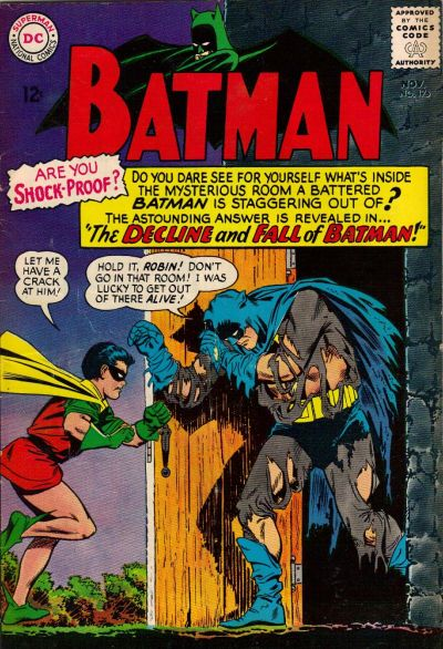 Cover for Batman (DC, 1940 series) #175