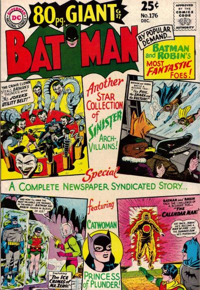 Cover for Batman (DC, 1940 series) #176