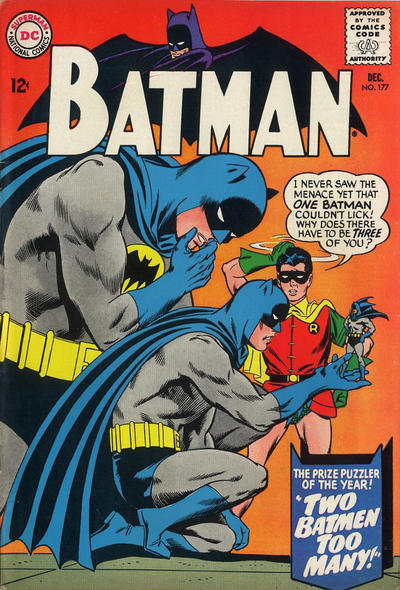Cover for Batman (DC, 1940 series) #177