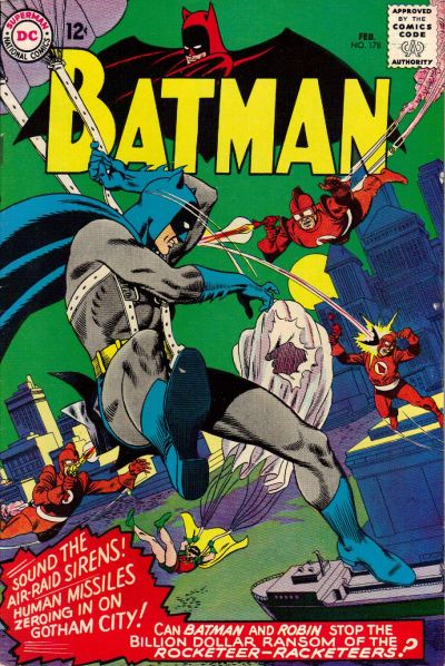 Cover for Batman (DC, 1940 series) #178