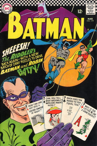Cover for Batman (DC, 1940 series) #179