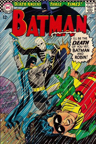 Cover for Batman (DC, 1940 series) #180