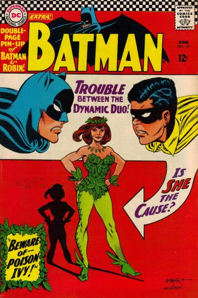 Cover for Batman (DC, 1940 series) #181