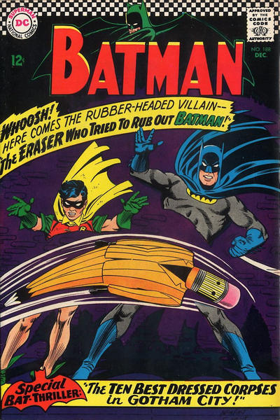 Cover for Batman (DC, 1940 series) #188