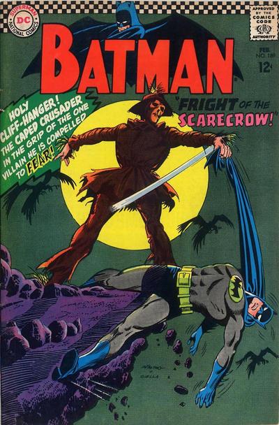 Cover for Batman (DC, 1940 series) #189