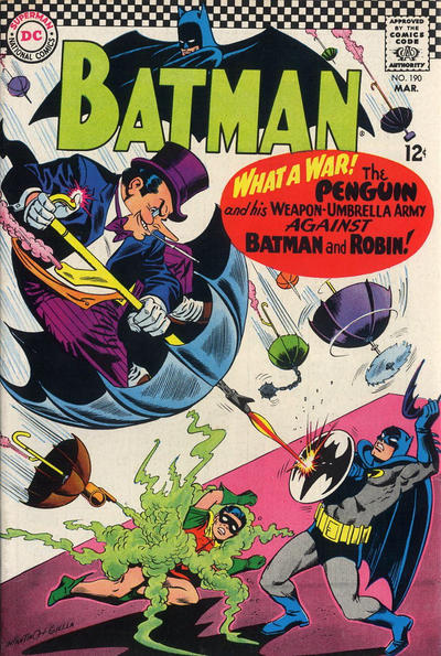 Cover for Batman (DC, 1940 series) #190