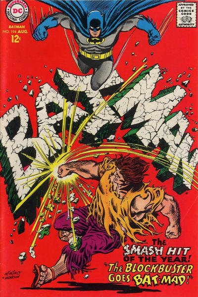 Cover for Batman (DC, 1940 series) #194