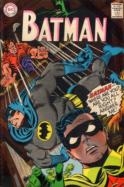 Cover for Batman (DC, 1940 series) #196
