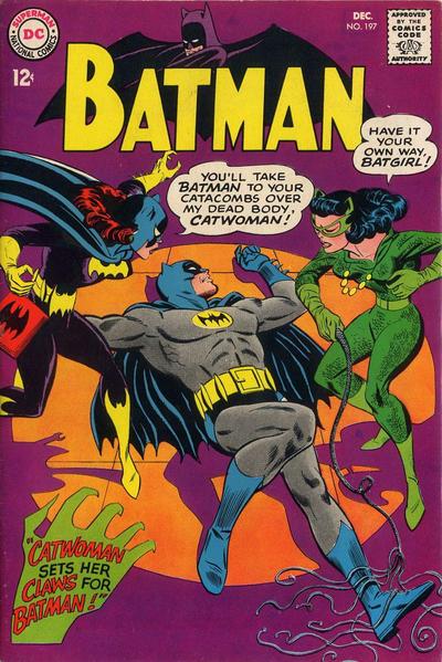 Cover for Batman (DC, 1940 series) #197