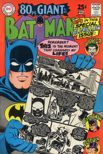 Cover for Batman (DC, 1940 series) #198