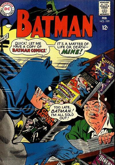 Cover for Batman (DC, 1940 series) #199