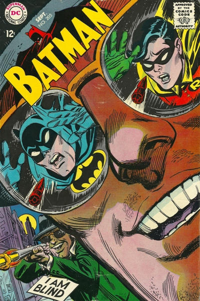 Cover for Batman (DC, 1940 series) #205