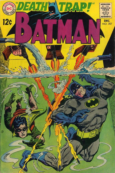 Cover for Batman (DC, 1940 series) #207