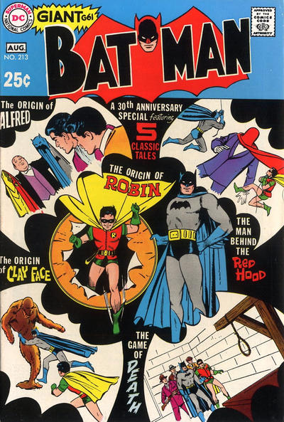 Cover for Batman (DC, 1940 series) #213
