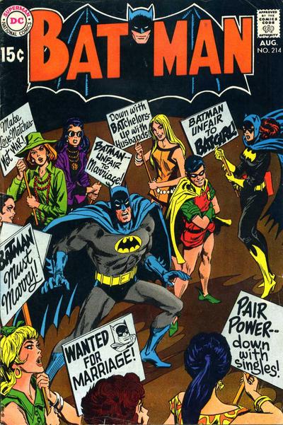 Cover for Batman (DC, 1940 series) #214