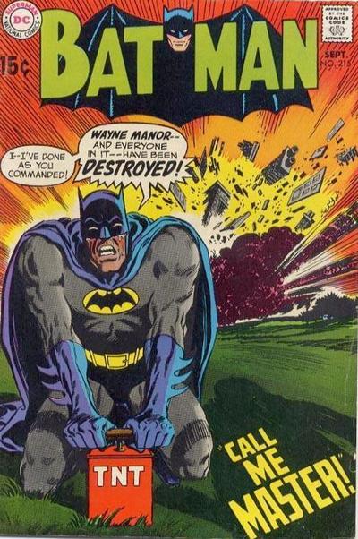 Cover for Batman (DC, 1940 series) #215