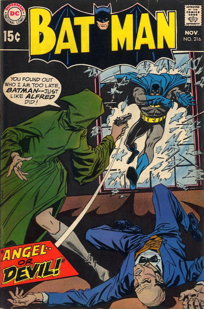 Cover for Batman (DC, 1940 series) #216