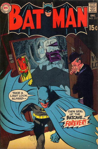 Cover for Batman (DC, 1940 series) #217