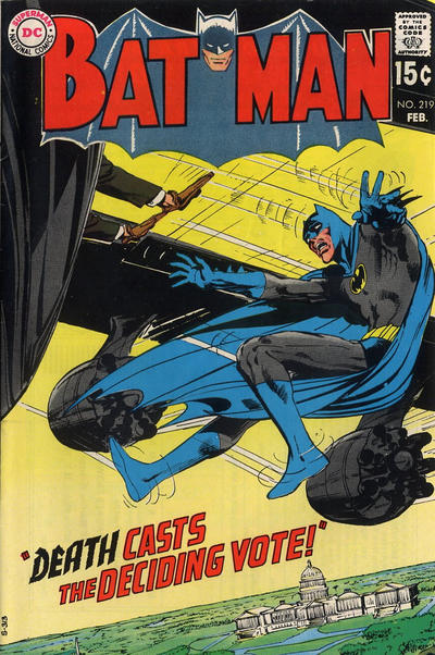 Cover for Batman (DC, 1940 series) #219