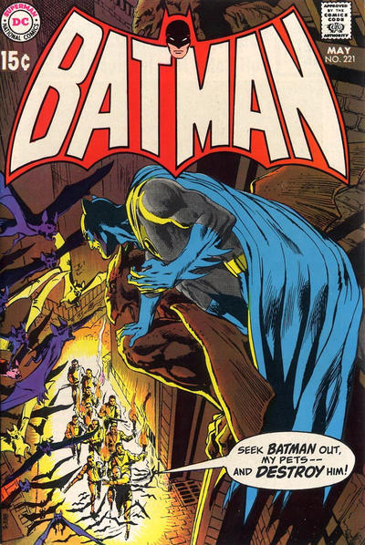 Cover for Batman (DC, 1940 series) #221