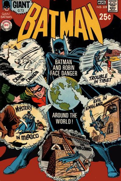 Cover for Batman (DC, 1940 series) #223