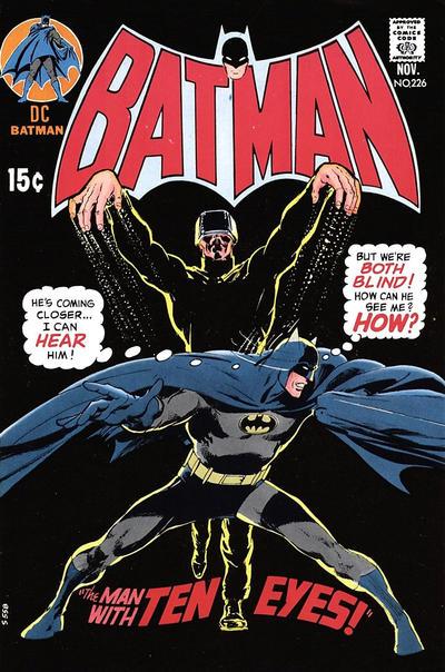 Cover for Batman (DC, 1940 series) #226