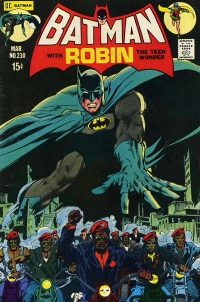 Cover for Batman (DC, 1940 series) #230