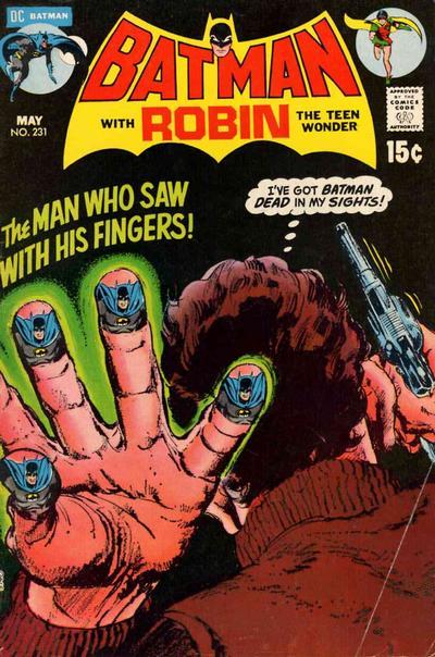 Cover for Batman (DC, 1940 series) #231