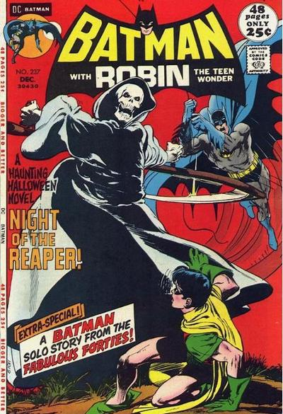 Cover for Batman (DC, 1940 series) #237