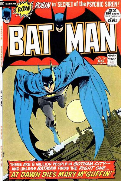 Cover for Batman (DC, 1940 series) #241
