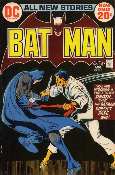 Cover for Batman (DC, 1940 series) #243