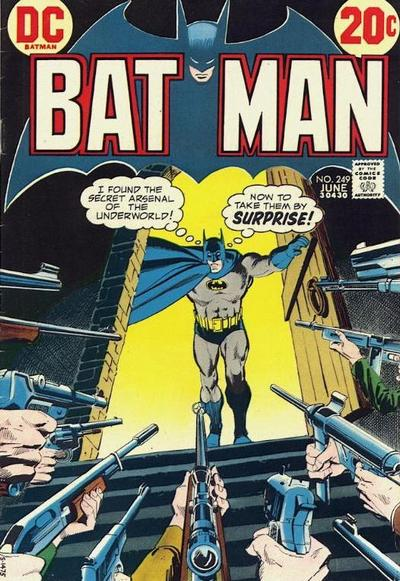 Cover for Batman (DC, 1940 series) #249
