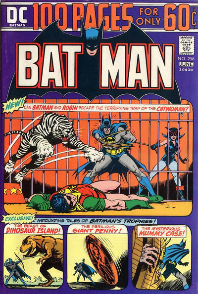Cover for Batman (DC, 1940 series) #256