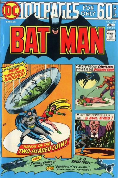 Cover for Batman (DC, 1940 series) #258