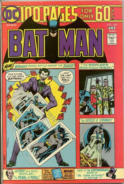 Cover for Batman (DC, 1940 series) #260