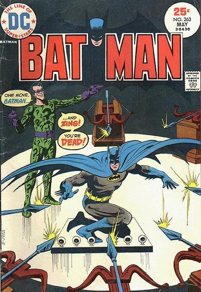 Cover for Batman (DC, 1940 series) #263