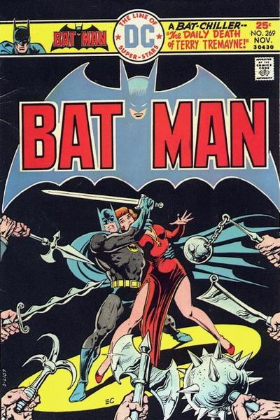 Cover for Batman (DC, 1940 series) #269