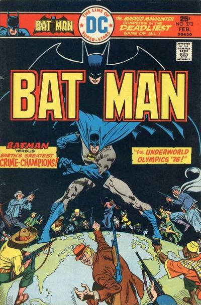 Cover for Batman (DC, 1940 series) #272