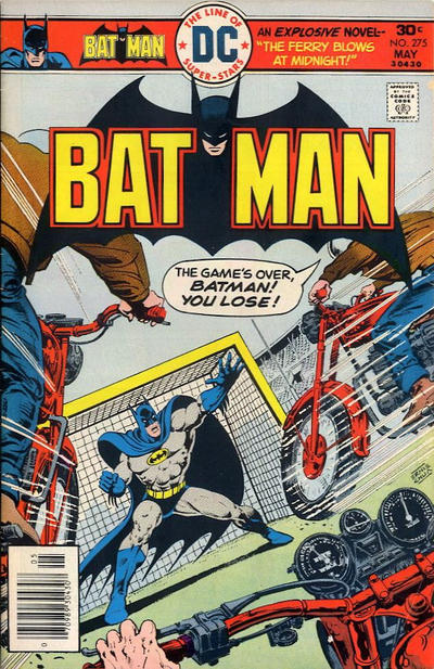 Cover for Batman (DC, 1940 series) #275