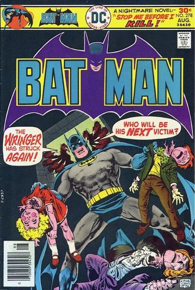 Cover for Batman (DC, 1940 series) #278