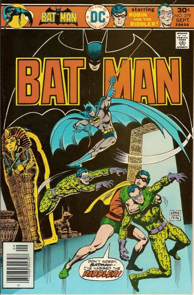 Cover for Batman (DC, 1940 series) #279