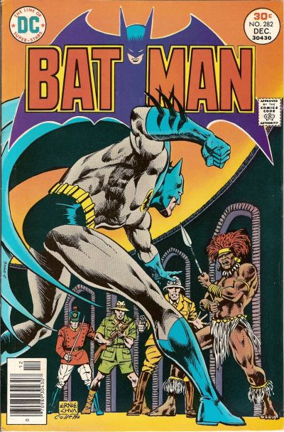 Cover for Batman (DC, 1940 series) #282