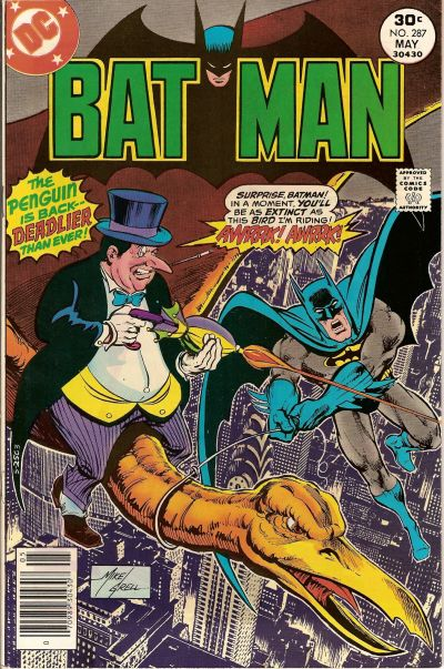 Cover for Batman (DC, 1940 series) #287