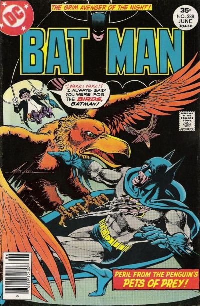 Cover for Batman (DC, 1940 series) #288