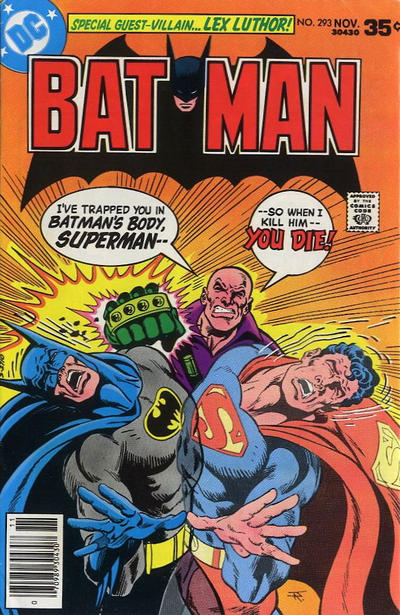 Cover for Batman (DC, 1940 series) #293
