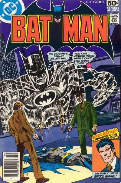 Cover for Batman (DC, 1940 series) #304