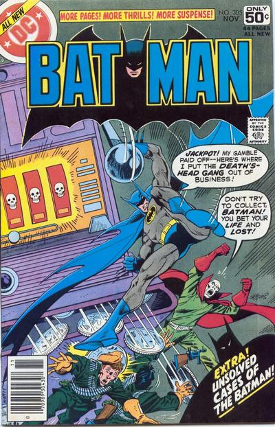 Cover for Batman (DC, 1940 series) #305