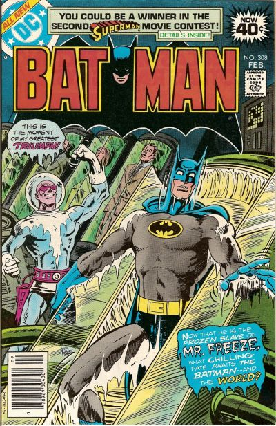 Cover for Batman (DC, 1940 series) #308