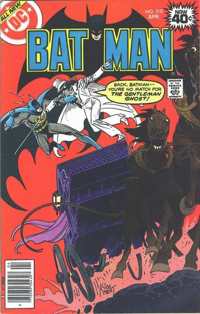Cover for Batman (DC, 1940 series) #310